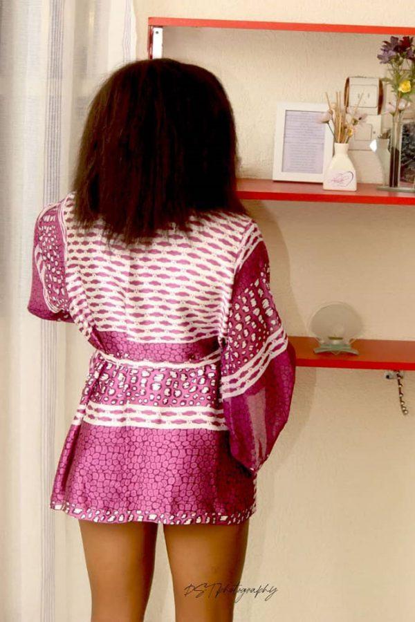 Afro lingerie femme mini